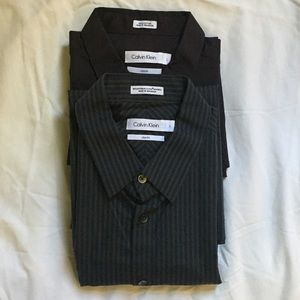 (Set of 2) Calvin Klein Men's Shirt